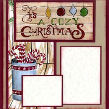 It's A Cozy Christmas (Page Kit) Left & Right