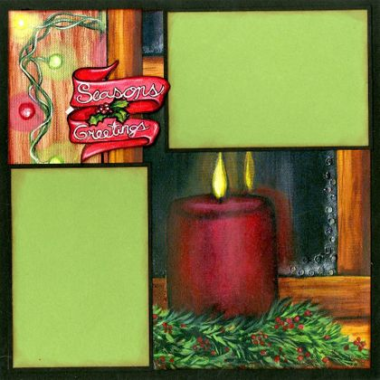 It's A Cozy Christmas - Quick Pages Set - Right
