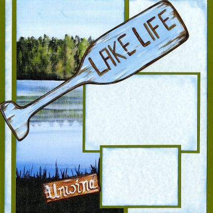 Lake Life (Page Kit) - Left & Right