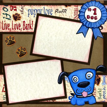 Love My Sweet Doggie! (Page Kit) Right Side