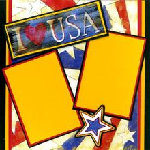 Made in America - Quick Pages Set - Left & Right