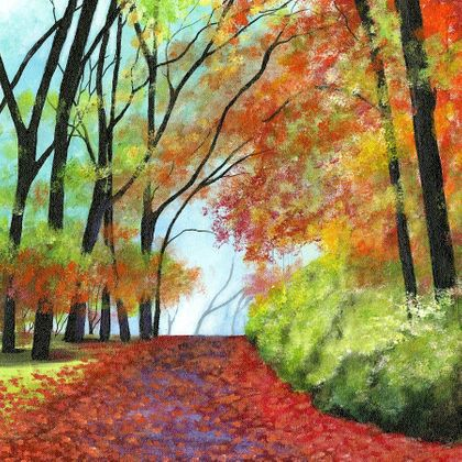 Magical Path to Fall - Print