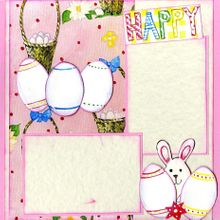 My Little Bunnies (Page Kit) - Left & Right