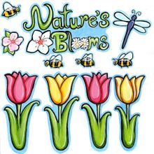 Nature's Blooms - Cut-Outs