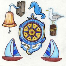 Nautical Adventures - Cut-Outs