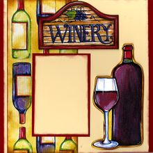 At The Winery - Left (Page Kit)