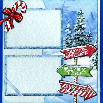 Christmas Time (Page Kit) - Right Side