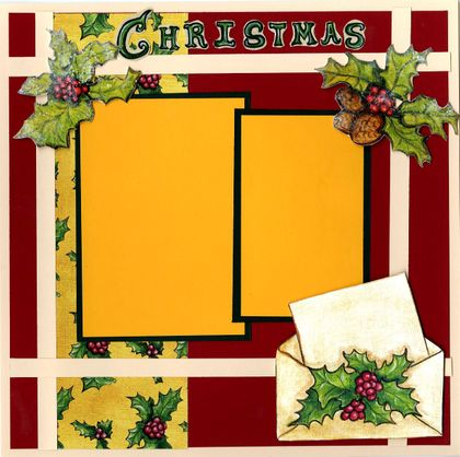 Merry Christmas - Quick Pages Set - Right