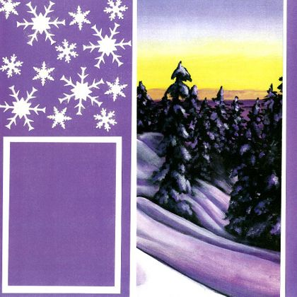 Winter's Eve - Quick Pages Set - Right