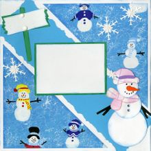 Winter Fun - Quick Pages Set - Right