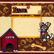 Time to Bark and Play! (Page Kit) Left & Right