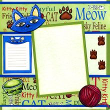 Meow!  Meow!  (Page Kit) Left & Right