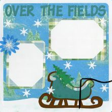 Over The Fields We Go - Quick Pages Set - Includes Left & Right