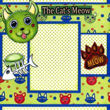 The Cat's Meow! (Page Kit) Left & Right