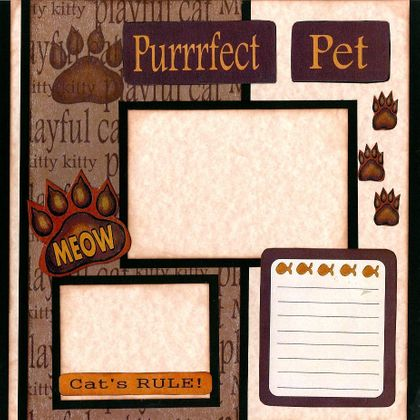 Simply Purrrfect Pet! (Page Kit) Left & Right