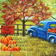 Pumpkins for Sale - Print
