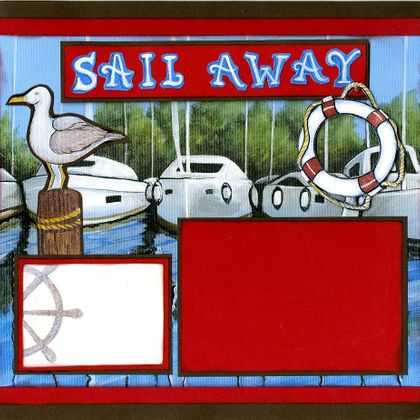 Sail Away II - Quick Pages Set (Includes Left & Right Pages)