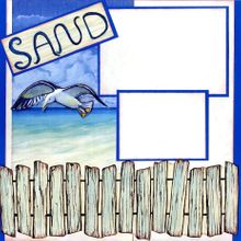 Sand & Surf (Page Kit) - Left & Right