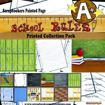 'SCHOOL RULES' Collection Pack