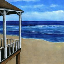 Shore Life Porch - Scrapbook Print