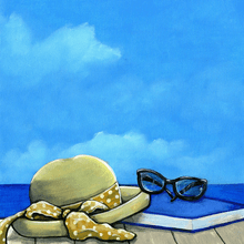 Shore Life Relaxation - Scrapbook Print