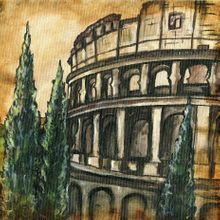 The Colosseum - Print