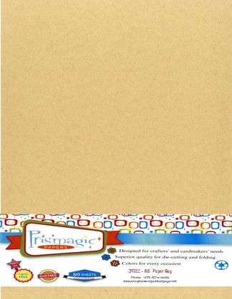 Paper Bag / Letter Size / 25 Sheet Pack