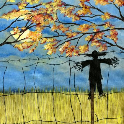 Country Scarecrow - Print