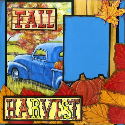 A Country Fall Harvest - Quick Pages Set - Right