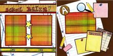 School Rules - Quick Pages Set