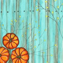 Magical Fall Pumpkins - Print