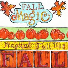 Fall Magic - Tags