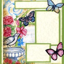 Beautiful Flower Garden (Page Kit) Left & Right