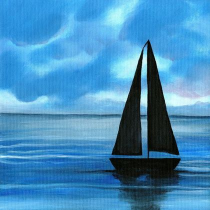 Twilight Sail - Print