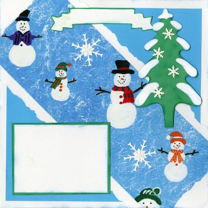 Winter Fun - Quick Pages Set - Includes Left & Right