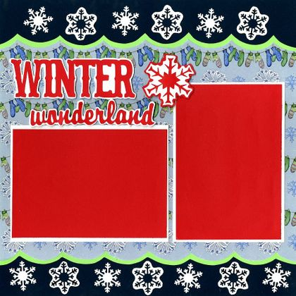 Winter Wonderland - Quick Pages Set