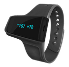 FL320 Wrist Pulse Oximeter for sleep and fitness - SPO2 & Heart Rate Recorder with vibration