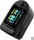 FL350 Fingertip Pulse Oximeter - Blood Oxygen Monitor (Black) - with Case