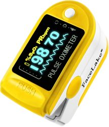 FL350 Fingertip Pulse Oximeter , Yellow