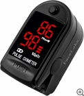 FL400 Fingertip Pulse Oximeter - Blood Oxygen Monitor (Black) - with Case