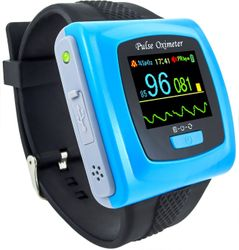 CMS50F Wristband Pulse Oximeter with Software & Bluetooth, CMS-50F