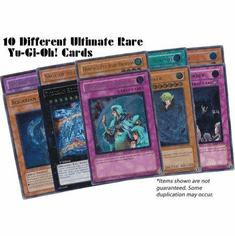 10 Different Ultimate Rare YuGiOh Cards