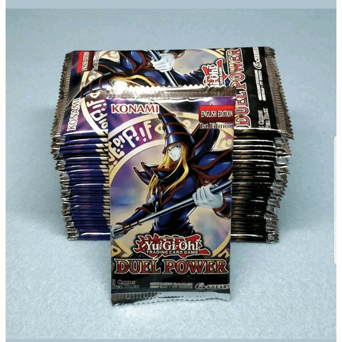 10x Yugioh Duel Power 1st Edition Booster Packs  Brand New Sealed Cards