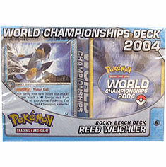 2004 Pokemon Card World Champ Decks