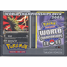 2005 Pokemon Card World Champ Decks