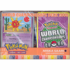 2006 Pokemon Card World Champ Decks