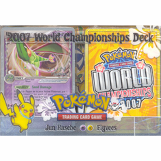 2007 Pokemon Card World Champ Decks