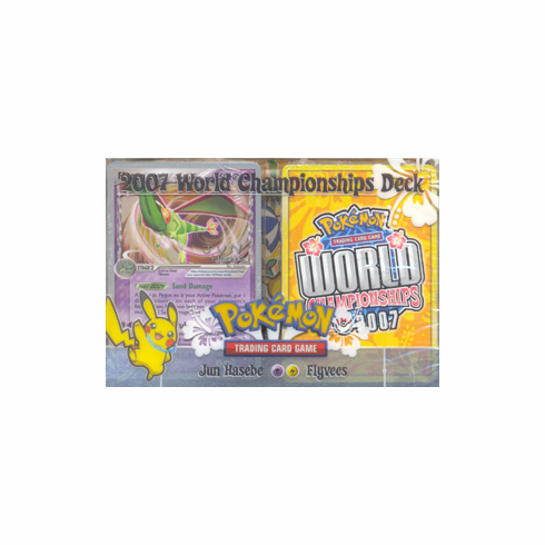 2007 Pokemon World Champ Flyvees Deck played by Jun Hasebe