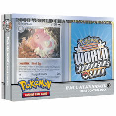 2008 Pokemon World Champ BLISS CONTROL Deck played by Paul Atanassov