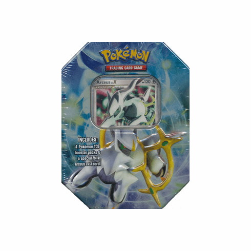 2009 Pokemon Card Game Arceus Level X LV. X Holiday Tin